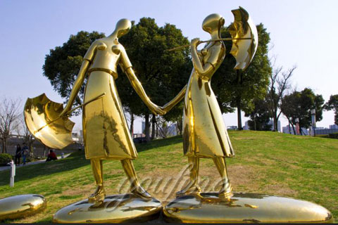 2017 Outdoor Sculpture in Stainless Steel for Sale
