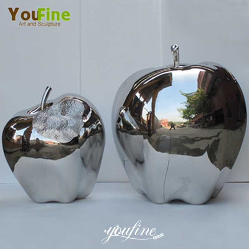 2020 Mirror Polished Modern Metal Sculpture In Stainless Steel For Sale Details