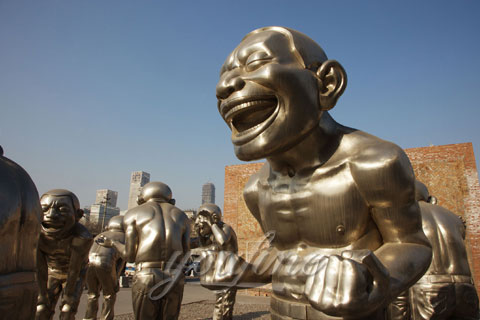 China Mirror Stainless Steel Sculptures Factory