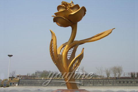 China Popular Mirror Stainless Steel Sculpture Modern for Sale