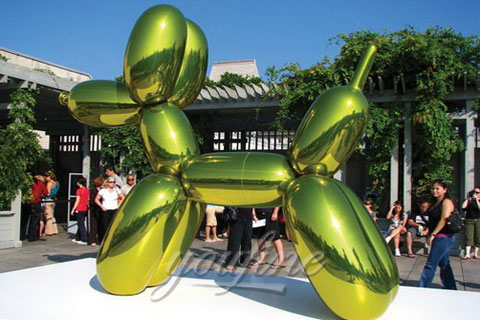 Large Outdoor Modern Metal Sculpture in Stainless Steel