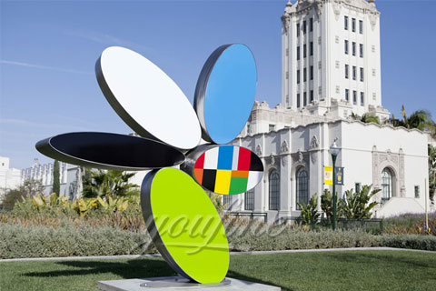 Outdoor Contemporary Stainless Steel Sculpture for Selling