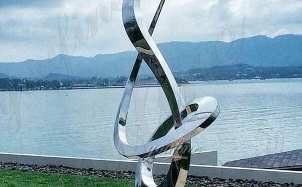 Outdoor Large Stainless Steel Growth Sculpture Design Supplier CSS-14
