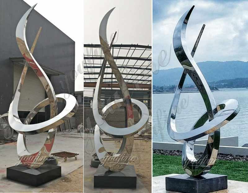 Stainless Steel Growth Sculpture