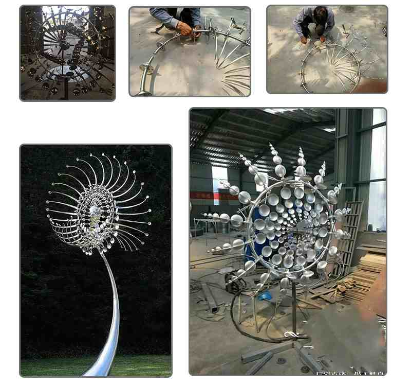 Stainless Steel Kinetic Sculpture Replica
