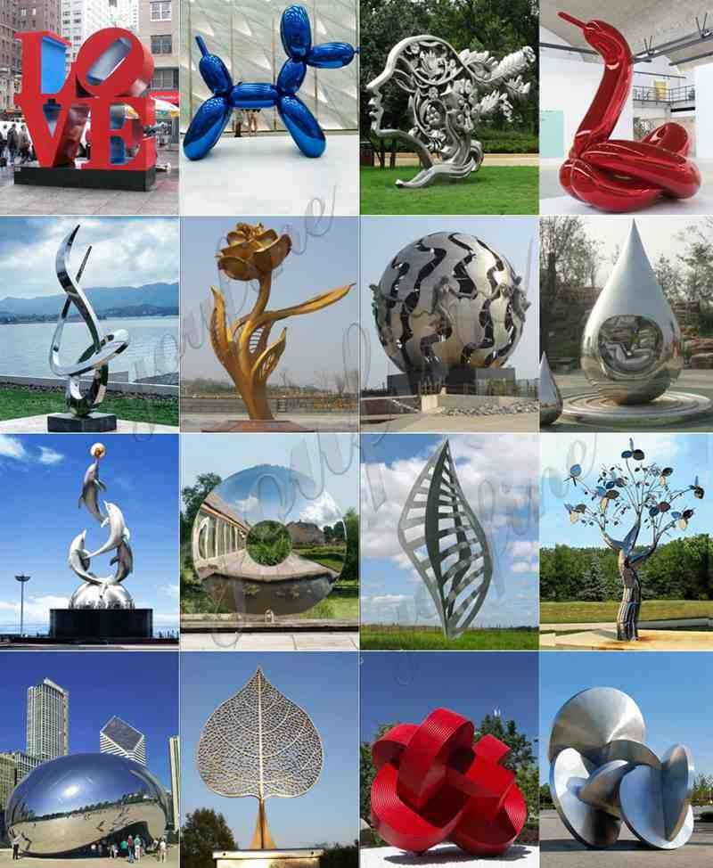 Global Stainless Steel Outdoor SculptureGlobal Stainless Steel Outdoor Sculpture