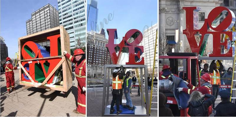 love statue replica