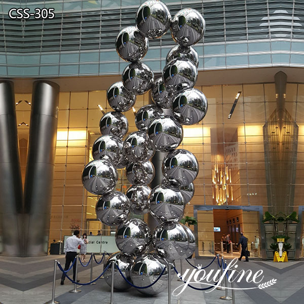 Modern Large Ball Tree Metal Sculpture Decor for Sale CSS-305