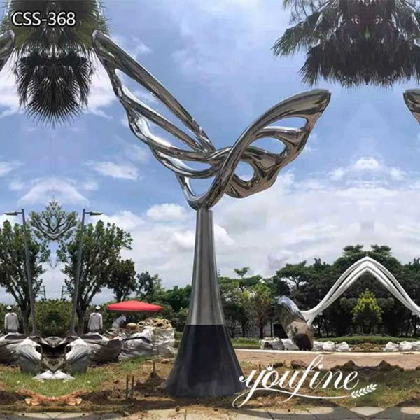 Outdoor Large Metal Butterfly Sculpture Art for Garden for Sale CSS