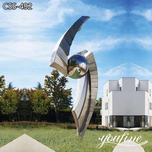Contemporary Outdoor Metal Sculpture Art Decor Manufacturer CSS-492